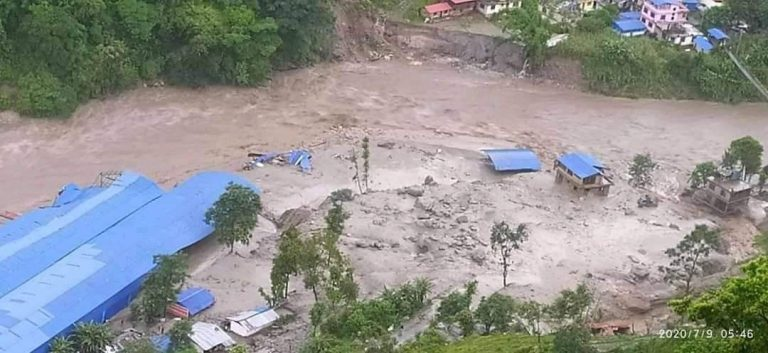 Preview thumbnail for the article: Thousands displaced after deadly landslides in Nepal