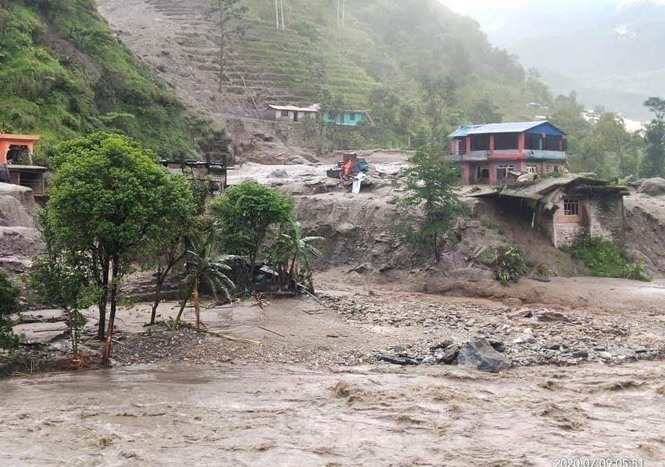 Send emergency relief to landslide victims in Nepal