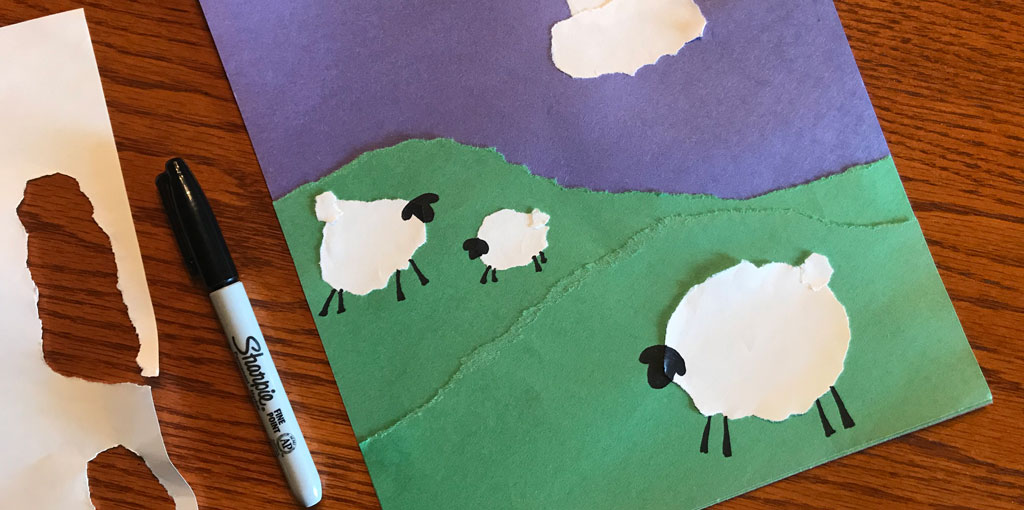 Months without mail: Surprise your sponsored child with this easy craft