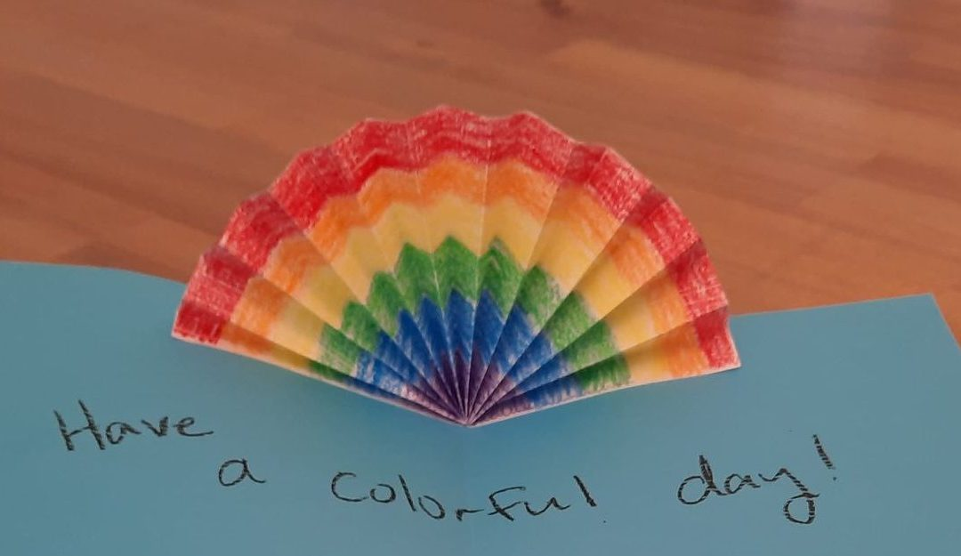 DIY: Make a rainbow to send to your sponsored child