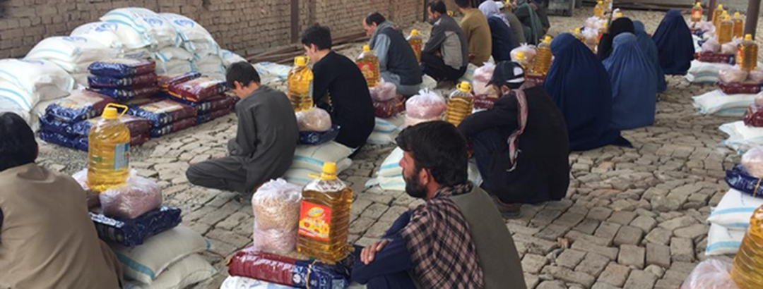 Thank you for helping feed starving Afghan families!